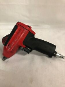 Snap on Tools 3 8 Drive Red Super Duty Air Pneumatic Impact Wrench Mg325 Works