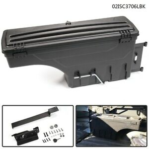 Lockable Storage Box Truck Bed Tool Box Driver Side For Dodge Ram 1500 2500 3500