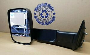 Oem Tow Mirror Fits 2010 2012 Dodge Ram 1500 2500 3500 Lh 55372073