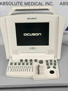 Siemens Acuson Cypress white Portable Ultrasound Machine With 7l3 Linear Probe