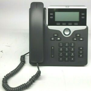 Cisco 7841 Cp 7841 k9 4 Line Ip Voip Business Phone Lcd Display No Charger