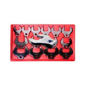 V8 Tools 7814 14 piece 1 2 In Drive Sae Jumbo Crowfoot Wrench Set