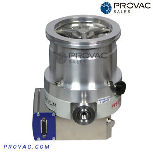 Pfeiffer Tmh 262 Turbo Pump With Tc100 Rebuilt By Provac Sales Inc