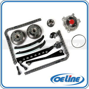 Timing Chain Kit For 04 08 Ford F 150 Lincoln 5 4l 3v Triton With Water Pump