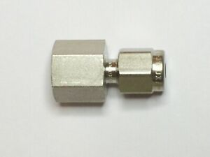 Swagelok Stainless Steel Connector Fitting 1 8 Tube X 1 8 Fnpt Ss 200 7 2bt