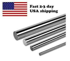 Pdtech 12mm Hardened Steel Linear Bearing Rod Rail 1m Chrome Custom Cut Usa