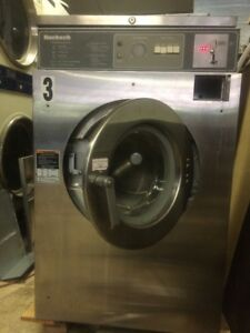 Coin op Huebsch Commercial Washer 35 Lb 208 240 3 Phase Speed Queen