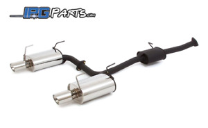 Apexi 60mm World Sport 2 Ws2 Catback Exhaust Fits 2004 2008 Acura Tsx K24a2