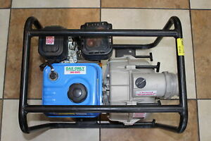 Pacific Hydrostar 3 Gasoline Powered Full Trash Pump 61990 local Pick Up