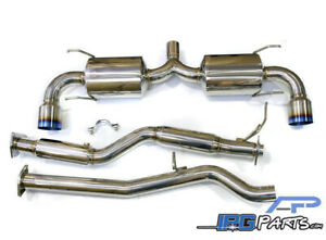 Agency Power 3 Catback Exhaust System Fits 2004 2011 Mazda Rx8