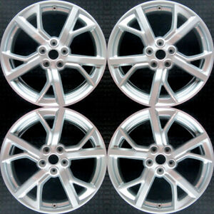 Set 2012 2013 2014 For Nissan Maxima 19 Silver New Replica Wheels Rims 62583