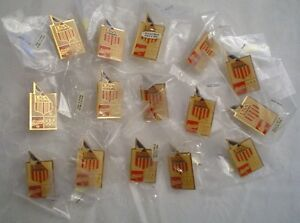 (15) USA Swimming Coca-Cola Olympic Lapel Pins-lot of 15