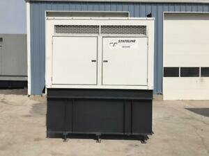 _125 Kw Stateline Generator Set Base Fuel Tank 1 Phase Yr 2005 Low Hours