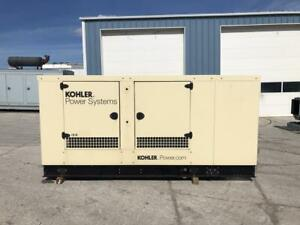 _150 Kw Kohler Generator Set 2013 12 Lead Sound Attenuated 277 480 Volts
