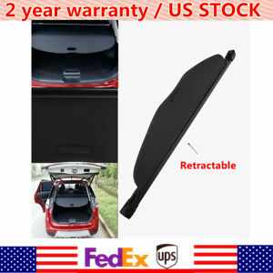 For 2014 2018 Nissan Rogue Sv Sl Retractable Trunk Cargo Cover Security Shade Us