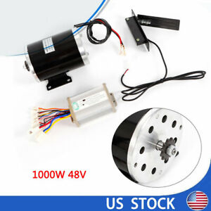 My1020 Zy1020 Type 48v Dc Scooter Electric Motor Kit W Base Speed Control