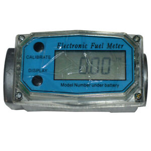 High precision Turbine Digital Diesel Fuel Electronic Flow Meter 1 High Quality