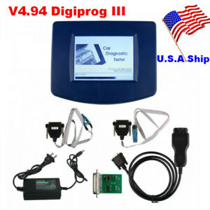Us Ship Digiprog 3 Main Unit V4 94 With St01 St04 Adapter Obd2 Cable Obd2 Tool