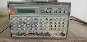 Tektronix Afg 5101 Programmable Arbitrary function Generator Tested