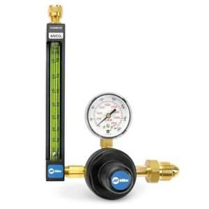 Miller Smith 22 80 580 20 Series Flowmeter Regulator For Argon Co2