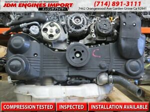Jdm Subaru Wrx Ej20x Turbo Engine 2 0l Replacement For 2 5l Trans Not Included