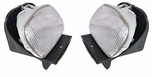 Fits For 1998 1999 2000 Ford Ranger Fog Lights Right Left Pair Set