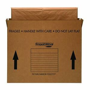 Bankers Box Smoothmove Tv picture mirror Moving Box Large 48 X 4 X 33 Inches