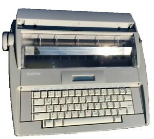 Brother Sx 4000 Electronic Lcd Display Typewriter