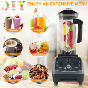 T5200 2l Heavy Duty Commercial Blender With Timer 2200w Fruit Variable Speeds z