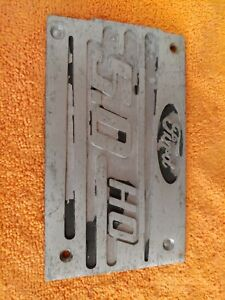 94 95 Mustang 5 0 Plenum Plate Plaque Intake Cover V8 1994 1995