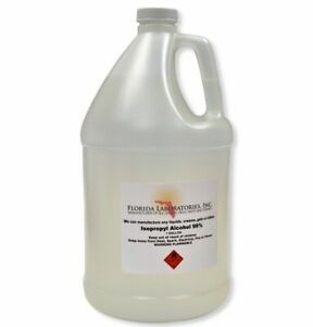 1 Gallon Isopropyl Alcohol Grade 99 Anhydrous Pack Of 4 Quarts 753807996624