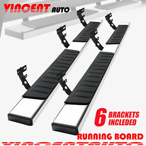 For 2009 2018 Dodge Ram 1500 Crew Cab 6 Running Board Side Step Nerf Bar S S H6