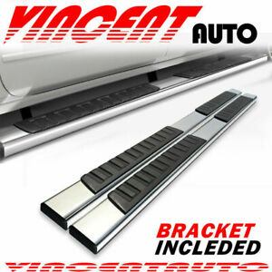 For 2009 2014 Ford F150 Super Crew Cab 6 Running Board Side Step Nerf Bar S S H