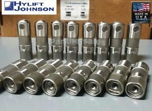 Hylift Hydraulic Roller Lifters Set 16 For Chevy 4 8 5 3 5 7 6 0 Ls1 Us made