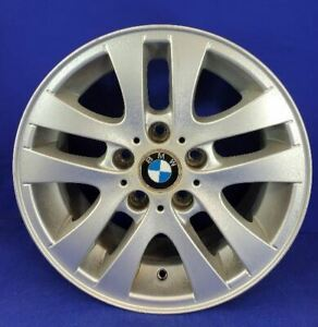 06 12 Bmw 323i Wheel 16x7 Alloy 5 V Wide Spoke 36116775595 Oem 59580
