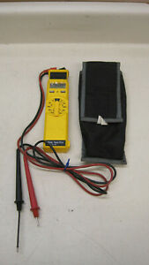 Ideal 61 401 Test pro Meter W Leads And Case Used Free Shipping