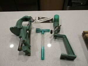 USED RCBS RELOADING PRESS FROM ESTATE