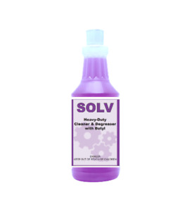 Solv Industrial strength Cleaner Degreaser Biodegradable Concentrate By Detco
