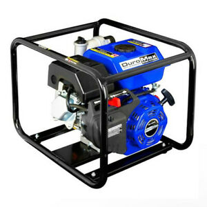 Duromax Xp904wp 4 inch Intake 9 Hp 427 Gpm Portable Gas Water Pump Refurbished