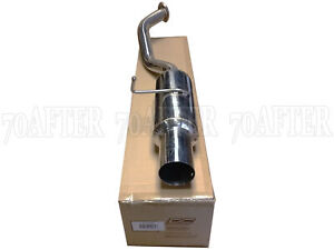 Dc Sports Stainless Steel Bolt on Axle back Exhaust For 08 15 Scion Xb