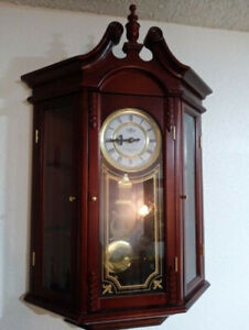 Antique Chime Wall Clock For Sale