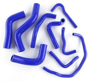 Silicone Radiator Hose For Mazda Roadstar Miata Mx 5 Na6ce B6ze 1 6l 89 93 Blue