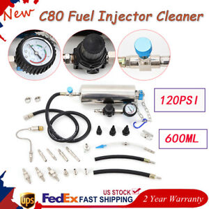 C80 Non dismantle Injector Cleaner Tester Fuel System Throttle Cleaner
