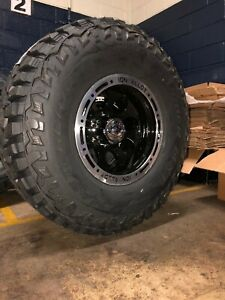 16x10 Ion 174 Mastercraft Mxt 35 Mt Wheel Tire Package 5x4 5 Jeep Wrangler Tj