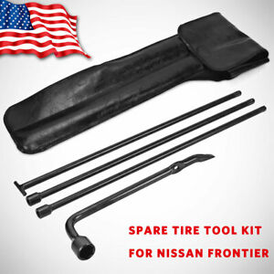Spare Tire Jack Tool Kit Lug Wrench Replacement For Nissan Frontier 2005 2014