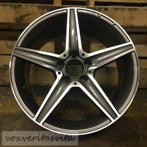 18 C43 Amg Style Wheels Rims Fits Mercedes Benz W204 W205 C250 C300 C350 C400