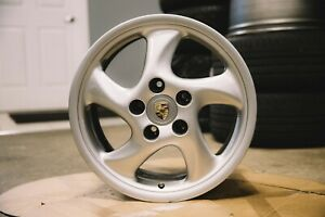 17 Porsche 911 996 986 Twist Wheels In Silver