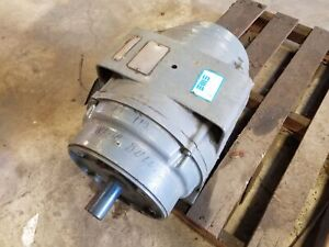Delco U1401cay1 15hp 3 Phase Electric Motor 1175 Rpm