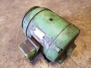 Delco B6315h5arq 10hp 3 Phase Electric Motor