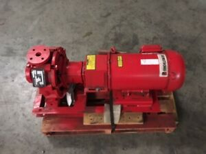 Armstrong Pump 4030 Base Mounted End Suction Pump 3hp 1 5 X 1 X 8